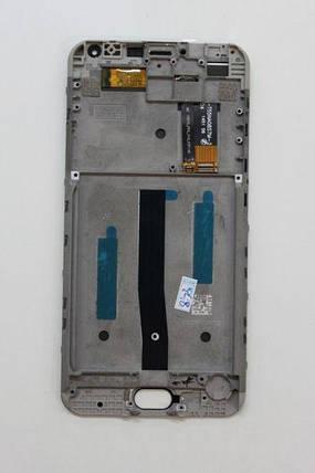 Дисплейный модуль в сборе Meizu M2 Note (с рамкой), фото 2