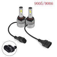 Светодиодные LED лампы головного света 9005 HB3 Epistar COB 8000Lm 36Watt