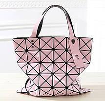 Женская сумка с лазерным геометрическим дизайном, фото 3