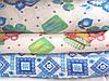 Ткань полотенечная вафельная набивная 78497 (ДОН) 11В3-172 ТКД 95СМ
