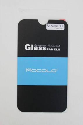 Защитное стекло Huawei Honor Y6 II (Mocolo 0,33мм), фото 2