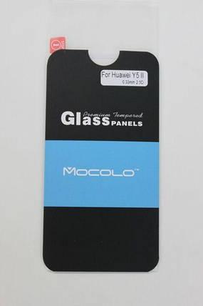 Защитное стекло Huawei Y5 II (CUN-U29) (Mocolo 0,33мм), фото 2