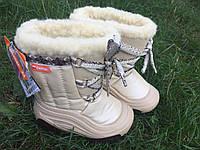 Зимние сапожки-дутики Demar (Польша)JOY b (белый)