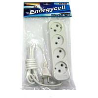 Удлинитель Energycell KD-04R (4 гнезда, 5м, 10А)