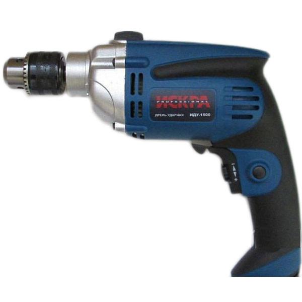Дрель ударная Искра ИДУ-1500 Professional