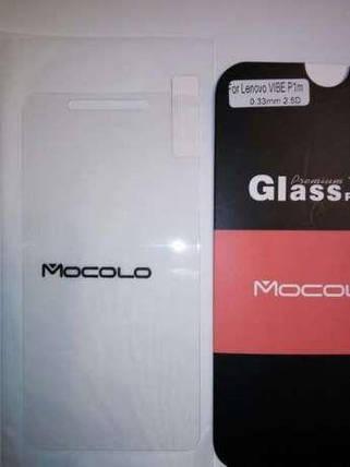 Защитное стекло Lenovo VIBE P1m (Mocolo 0.33mm), фото 2