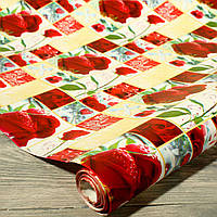 Подарочная бумага в рулоне (70 см*10 м)
