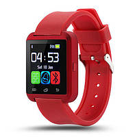 Умные часы U8 Smart Watch. Красного цвета Распродажа