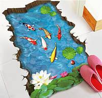 3-D коврик для ванной 88*58 см
