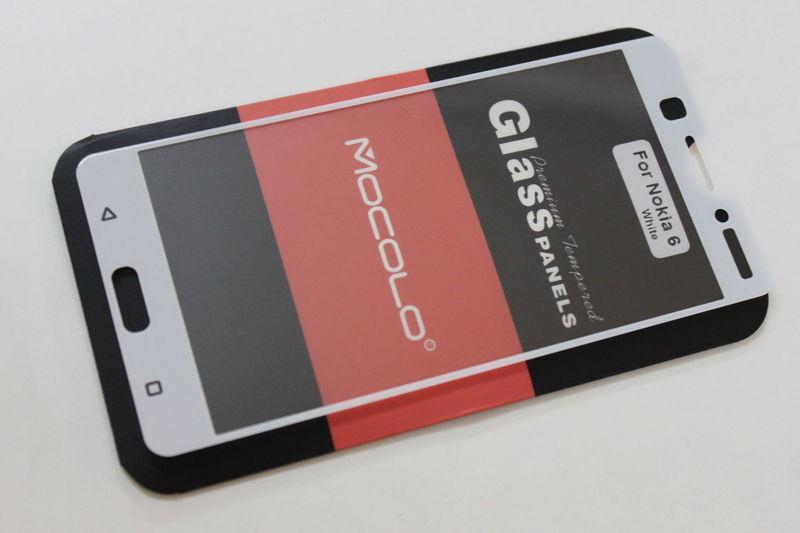 Защитное стекло Nokia 6 Full Cover (Mocolo 0.33mm)