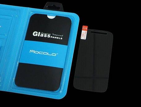 Защитное стекло Motorola Moto E2 (Mocolo 0.33mm), фото 2