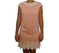 Платье молодежное летнее с кружевом
