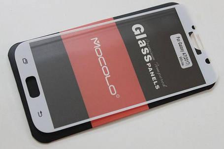 Защитное стекло Samsung Galaxy A7 (2017 Version) Full Cover (Mocolo 0,33мм), фото 2