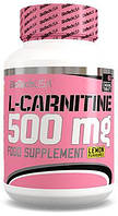 L-Carnitine 500 mg BioTech USA 60 tabs.