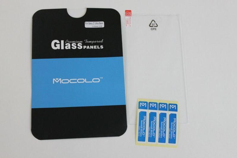 Защитное стекло Sony Xperia Z Ultra XL39h Back (Mocolo 0.33mm)