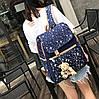 Большой звездный набор рюкзак, сумка и клатч, с брелком , фото 3