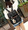 Большой звездный набор рюкзак, сумка и клатч, с брелком , фото 5