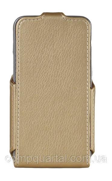 Чохол для смартфона Red Point Samsung J120 Galaxy J1 - Flip case Gold (ФК.72.З.09.23.000)