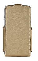 Чохол для смартфона Red Point Samsung J120 Galaxy J1 - Flip case Gold (ФК.72.З.09.23.000), фото 1