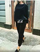 Женский велюровый костюм, два цвета  Арт.737 АР
