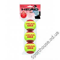 Мяч теннисный HEAD T.I.P Red