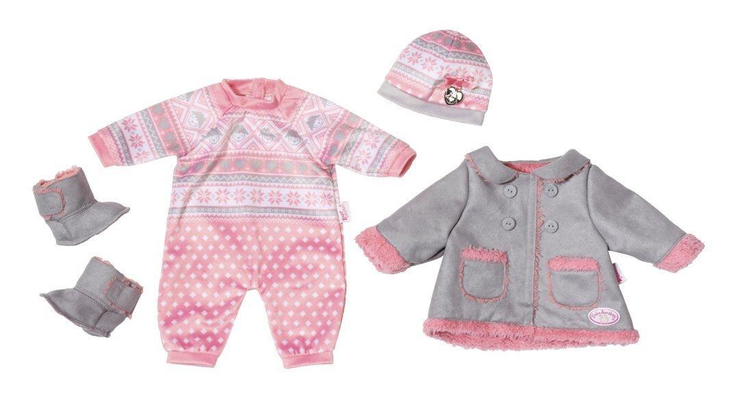 Одежда для куклы Baby Annabell Беби Анабель Делюкс Холодные дни Deluxe Kalte Tage Zapf Creation 7000