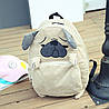 Большой тканевый рюкзак Лиса \ Мопс, фото 2