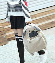 Большой тканевый рюкзак Мопс Лиса, фото 2