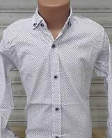 Стильна стрейчева сорочка