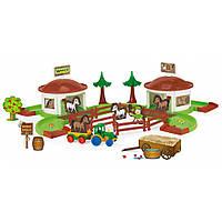 Игровой набор Kid Cars 3D ранчо Wader