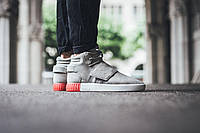 Мужские кроссовки  Adidas Tubular Invader Strap Sesame/ Sesame/ Vivid Red AT-606