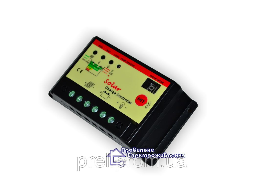 Контролер заряду 10I-ST 12-24V, 10А - Правильне електроживлення в Львове