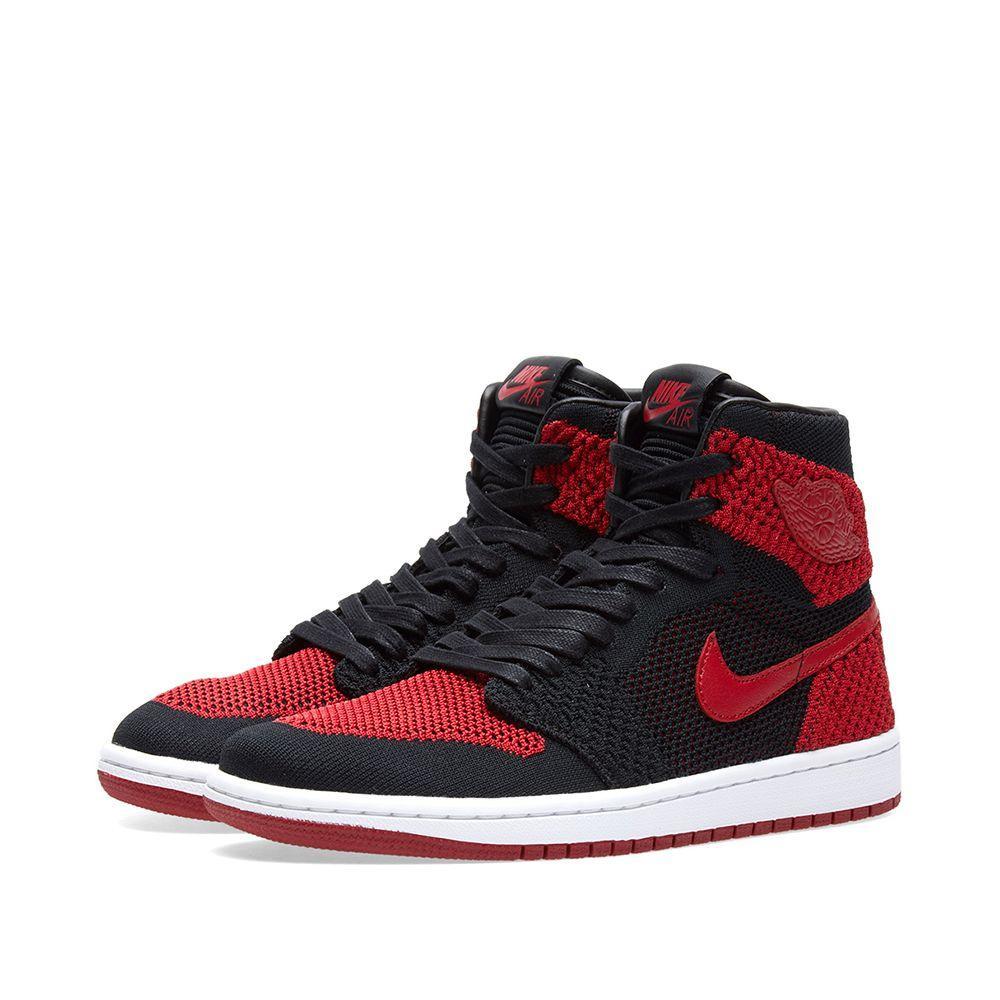 2455685e10c0ce Оригинальные Кроссовки Nike Zoom Air Jordan 1 Retro Flyknit GS — в ...