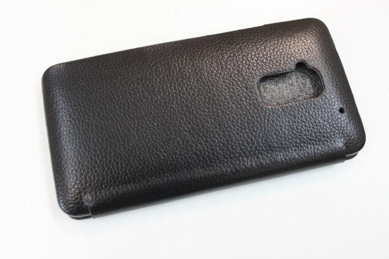 Кожаный чехол для HTC One Max