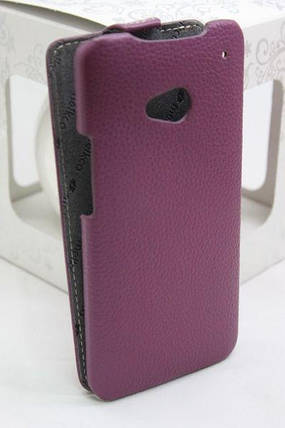 Кожаный чехол для HTC One M7, фото 2