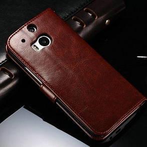 Кожаный чехол для HTC One M8, фото 2