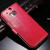 Кожаный чехол для HTC One M8, фото 3