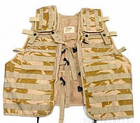 Жилет модульный Load Carring Tactical Vest Molle DDPM. Великобритания, оригинал.