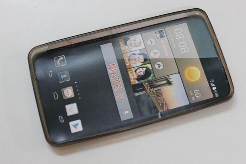Силиконовый чехол для Huawei Ascend Mate 2