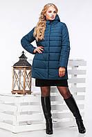 Зимнее женское полупальто большого размера  Марелла   Нью Вери (Nui Very) в Украине по низким ценам