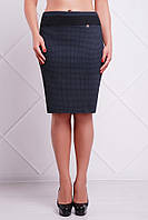 Офисная трикотажная юбка Merci Fashion UP 46-56 размеры