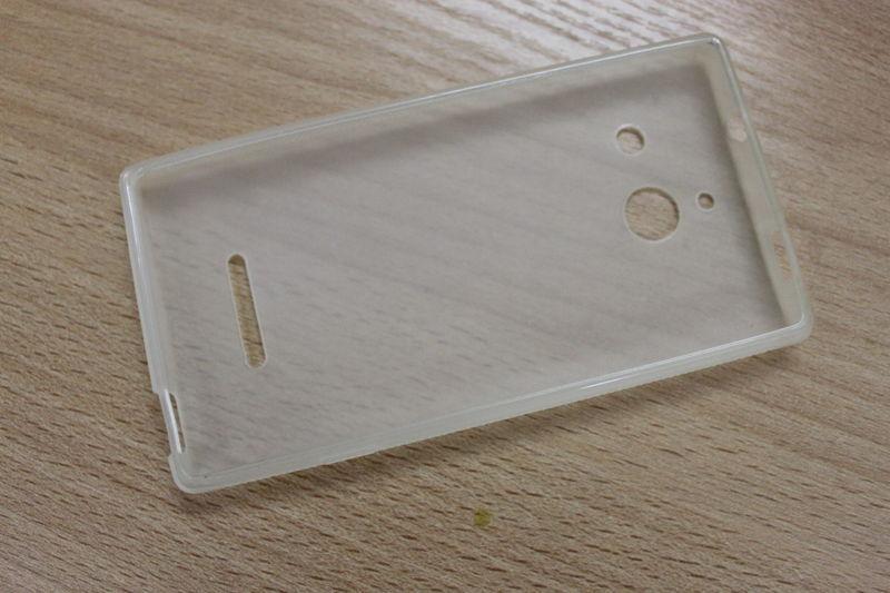 Силиконовый чехол для Huawei Ascend W1