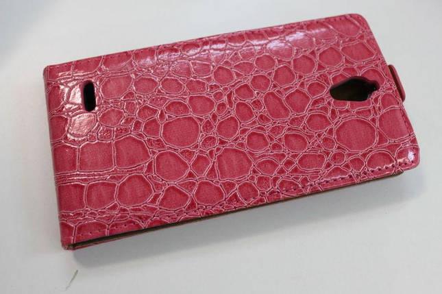 Кожаный чехол для Huawei G700, фото 2