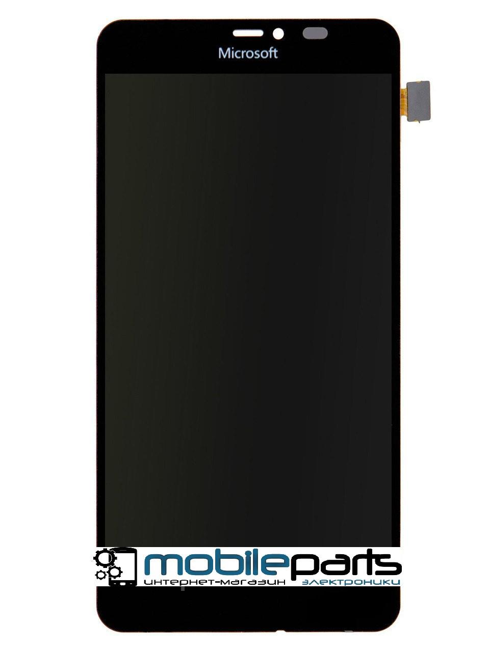 Оригинальный Дисплей (Модуль)+Сенсор (Тачскрин) для Nokia Lumia 640 XL (Черный)