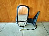 Зеркало боковое с повторителем Газель, Соболь (белый цвет), фото 2