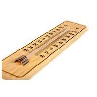 Термометр деревянный маленький