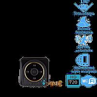 Wi-Fi мини камера H5 с датчиком движения и ночной подсветкой