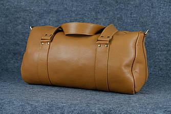 Именная спортивная сумка «Travel»  10152  Люксор гладкий  Рыжий