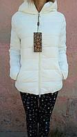 Женская куртка осень/весна белая