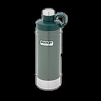 Термобутилка Stanley ClassicGreen, 0.62 л, зеленая